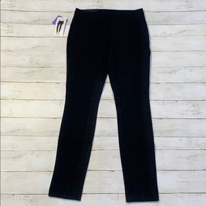 New! Blue Black Womens Business Casual Work Pants